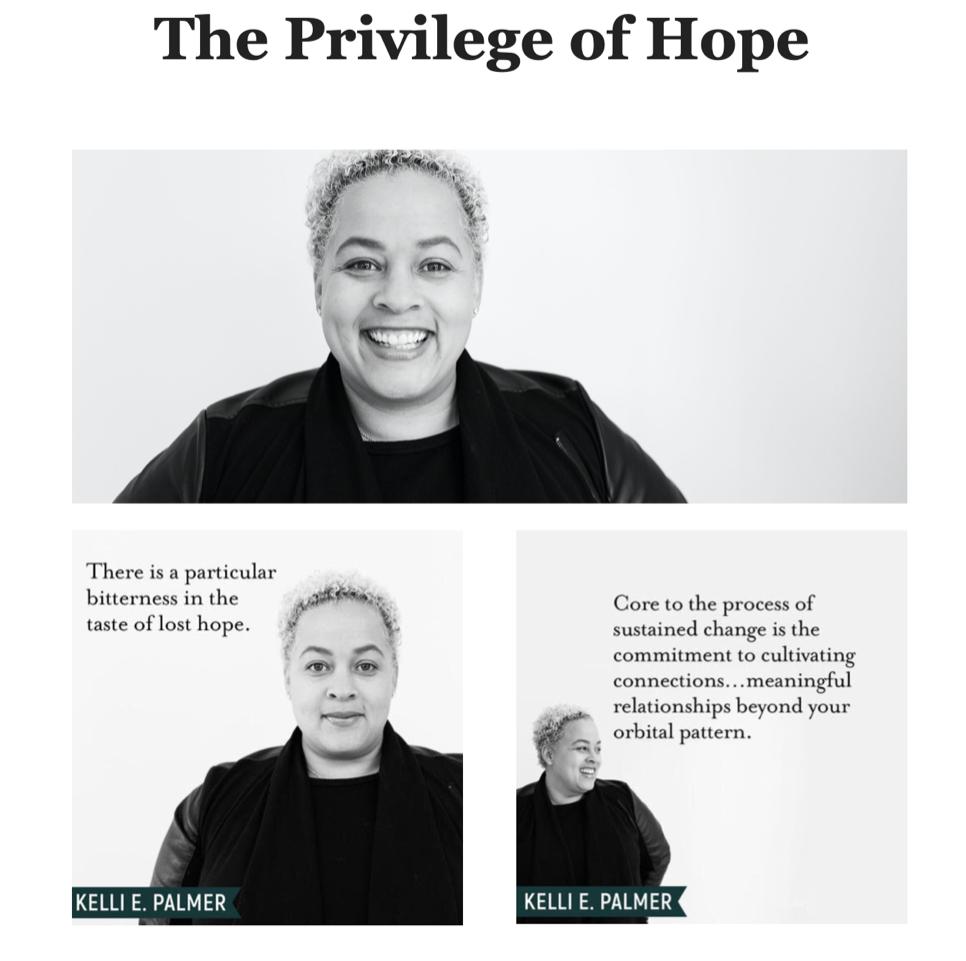 Privilege of Hope